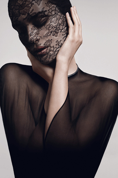 Haute couture mask from Givenchy